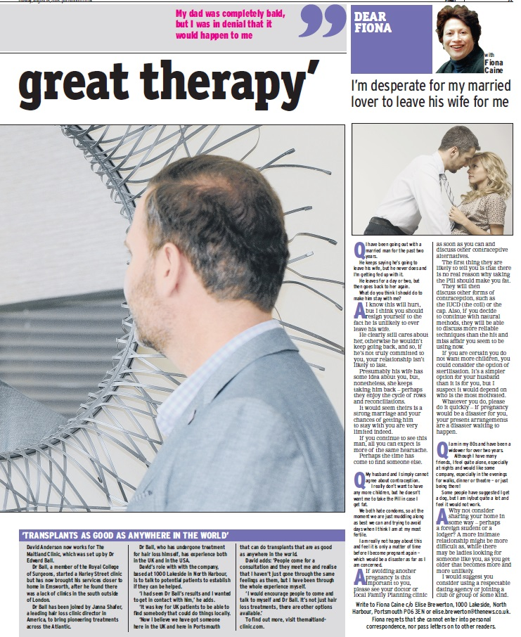 David on Portsmouth news page 3