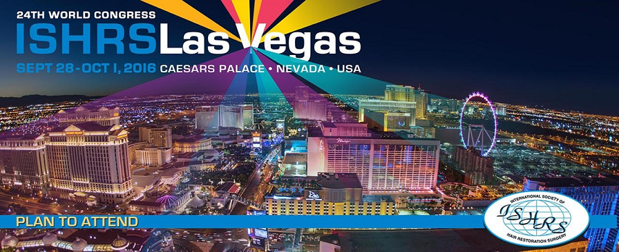 24th August 2016 – Workshop Director – 24th World Congress ISHRS – Las Vegas
