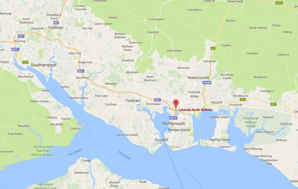 Hair Loss Clinic Portsmouth - Map and Directions