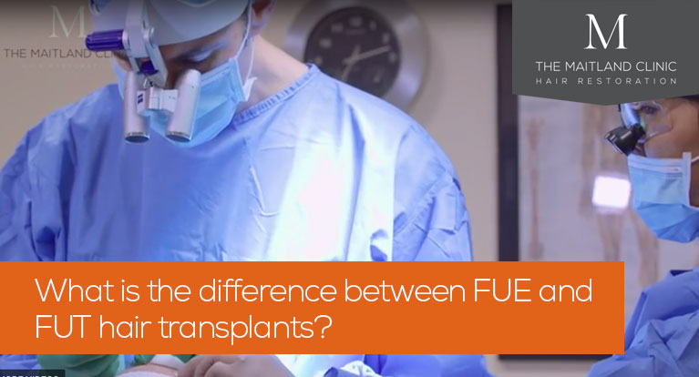 What is the difference between FUE and FUT hair transplants?