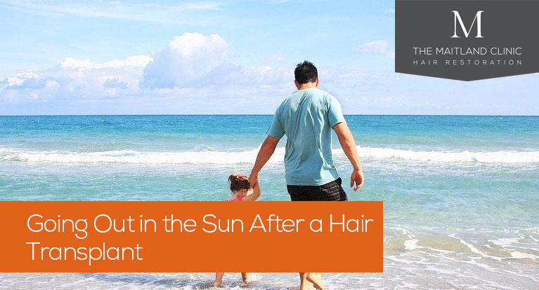 Going out in the sun after a hair transplant (how long + sun exposure)